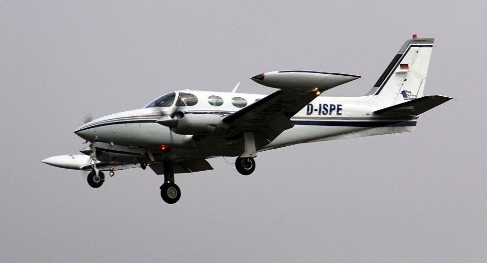 Una aeronave Cessna 340 (archivo)