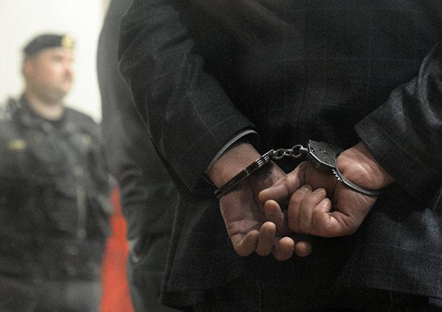 Un prisionero (imagen referencial)