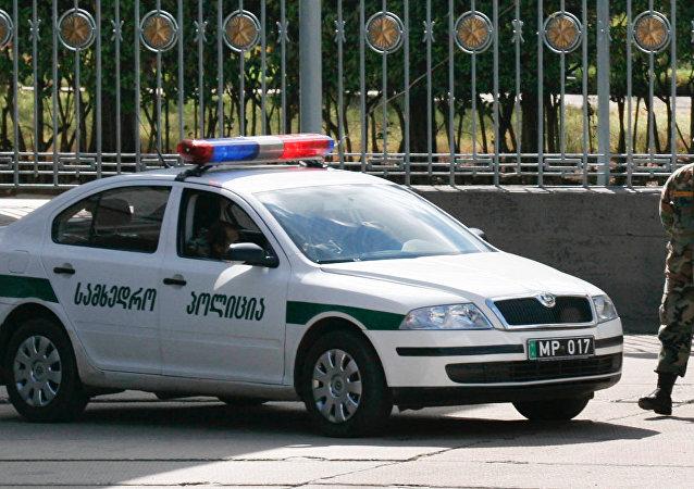 Un policía de Georgia (archivo)