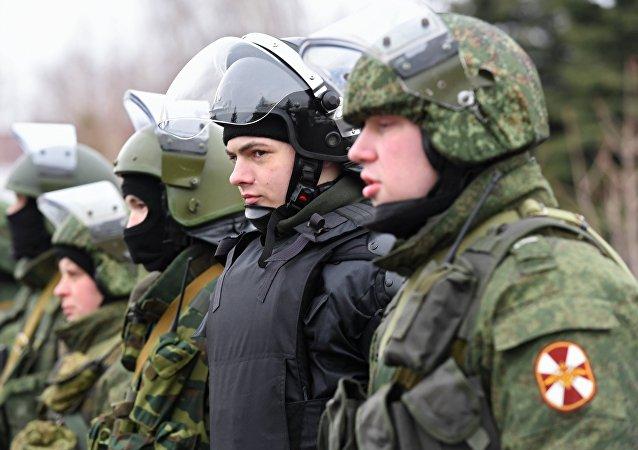 Guardia Nacional de Rusia (imagen referencial)