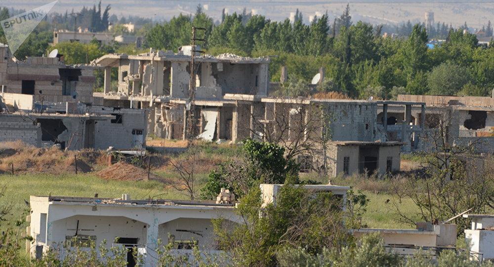 Cruz Roja evacúa a sirios enfermos de bastión terrorista de Guta