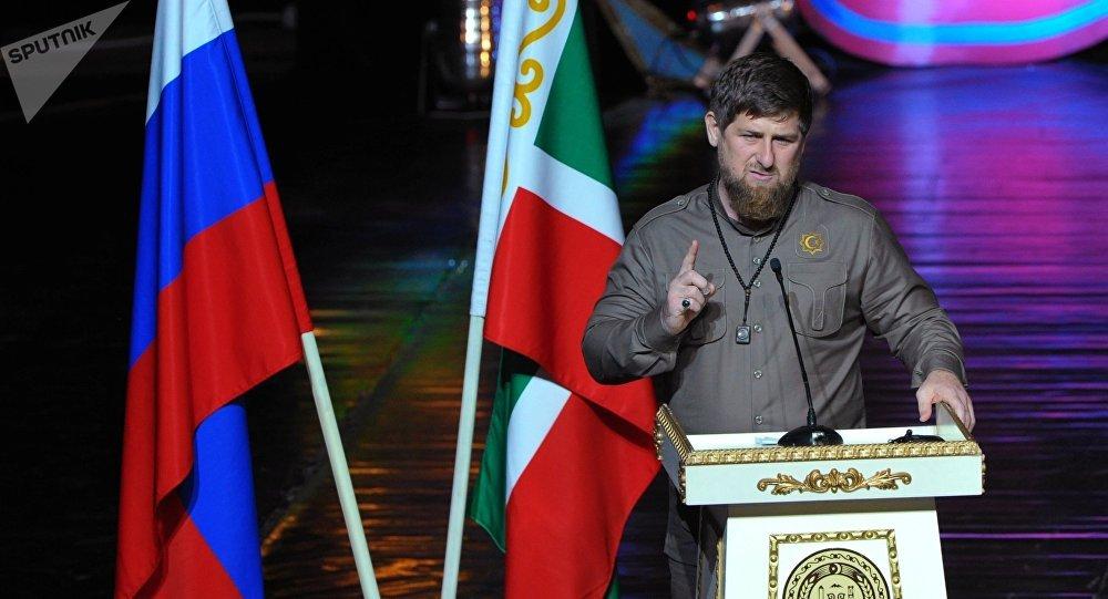Ramzán Kadírov, dirigente de la República de Chechenia