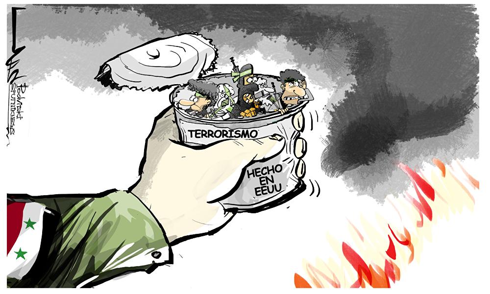 EEUU entrena en Siria a combatientes del Estado Islámico: Rusia