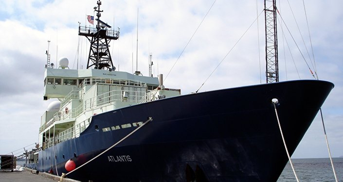 Atlantis, buque oceanográfico de la Armada de EEUU