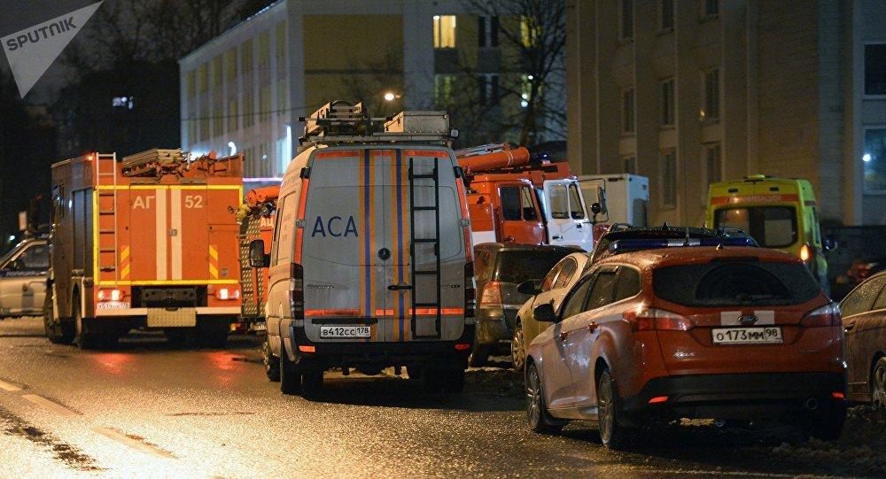 Explosión en supermercado deja 10 heridos