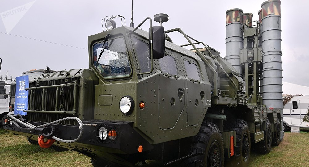 Sistema S-400 Triumf, antecesor de S-500