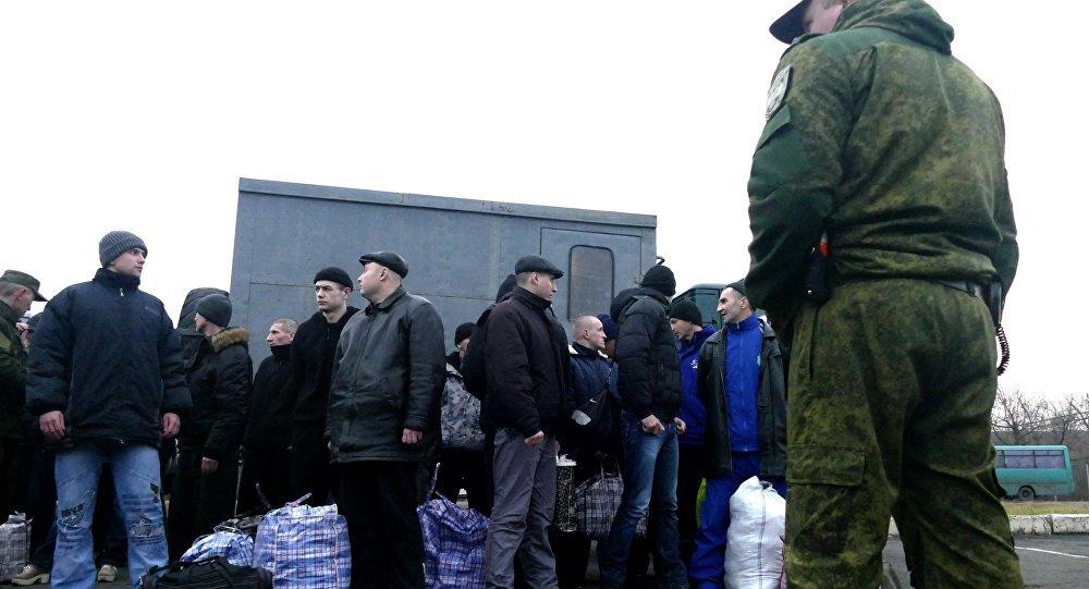 Canje de presos en Ucrania (archivo)