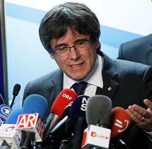 Carles Puigdemont, el presidente del Gobierno catalán cesado