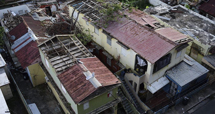 Consecuencias del huracán María en Puerto Rico (archivo)