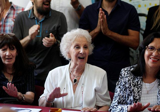 Abuelas de Plaza de Mayo de Argentina confirma hallazgo de nieta 127