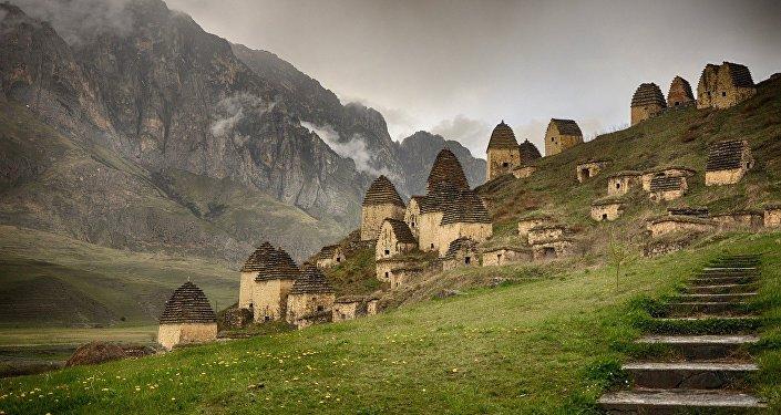 Dargavs, la mítica 'ciudad de los muertos' del Cáucaso