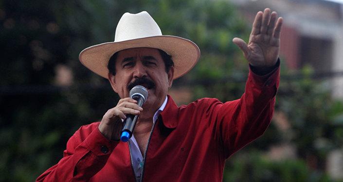 Manuel Zelaya, expresidente de Honduras