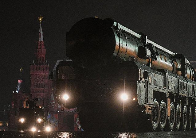 Lanzadera del ICBM Sarmat