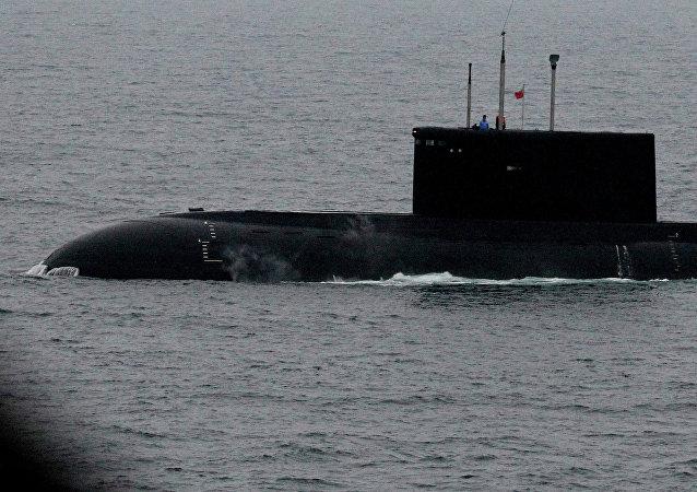 Un submarino ruso (imagen referencial)