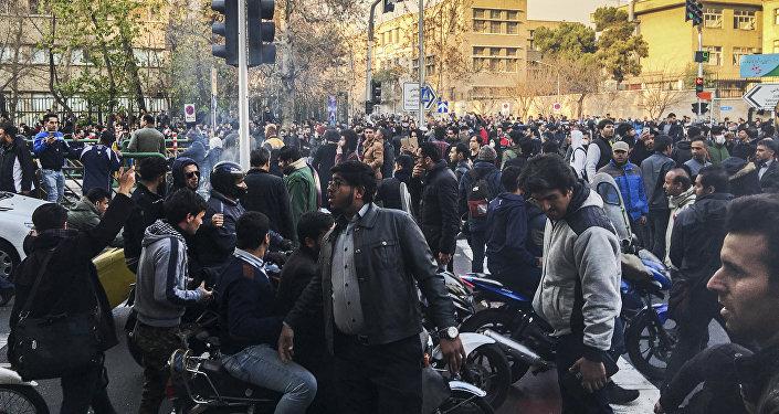 Es momento del cambio en Irán, asegura Trump