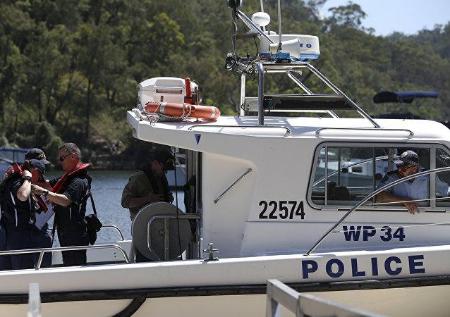 La policía marítima de Australia