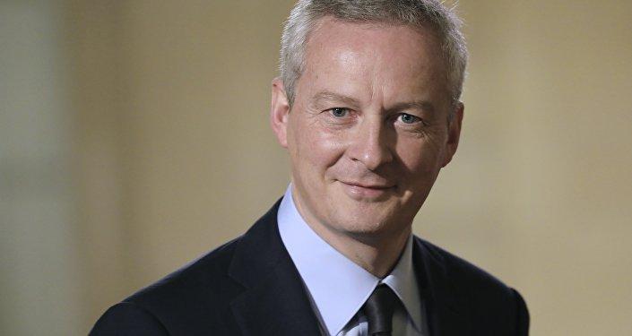 El ministro de Economía y Finanzas francés, Bruno Le Maire
