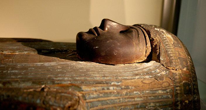 Una momia de Egipcio