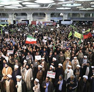 Protestas en Teherán, Irán (archivo)