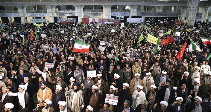 Las protestas en Irán (archivo)