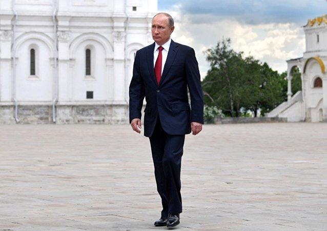 Vladímir Putin, presidente de Rusia, en el Kremlin (archivo)