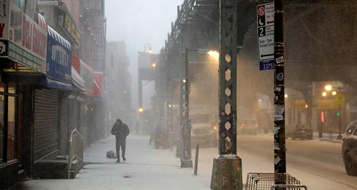 Ola de frío en EEUU