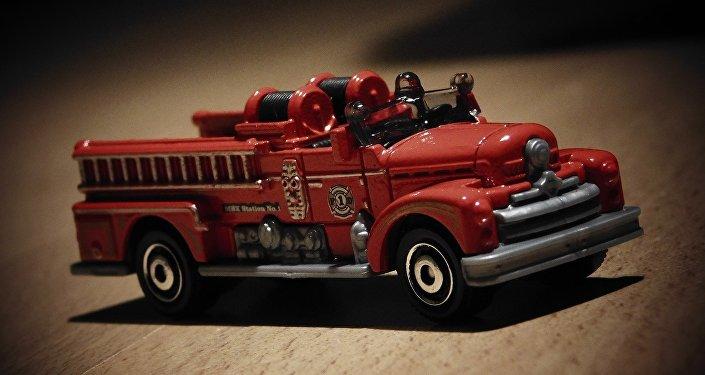Un modelo de camión de bomberos (imagen referencial)