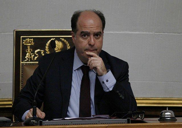 Julio Borges, expresidente de la Asamblea Nacional de Venezuela (archivo)