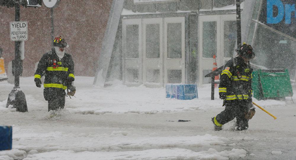 La tormenta invernal azota la costa este de EEUU