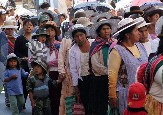 Trabajadoras bolivianas