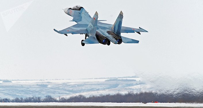 Avión ruso Su-30SM