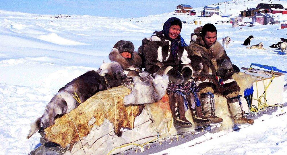 Los inuit, imagen de archivo
