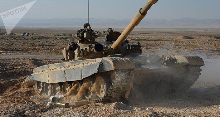 Tanque sirio (imagen referencial)