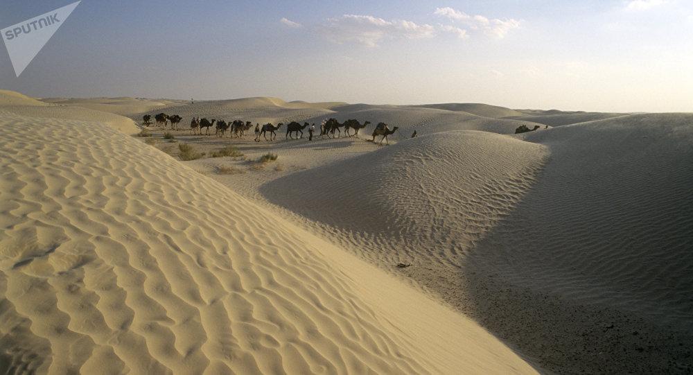 Desierto del Sahara (archivo)