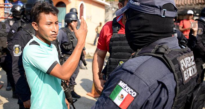 Policía de México (archivo)