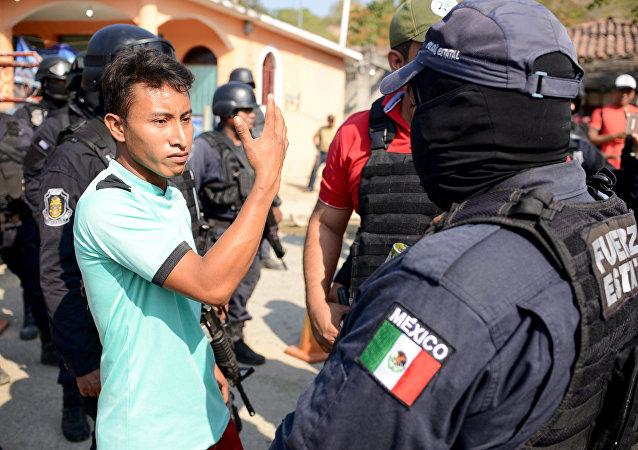 Policía de México en Guerrero