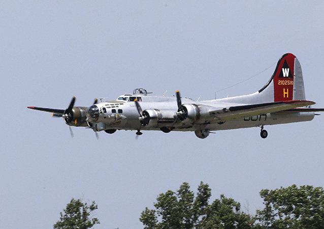 Boeing B-17 Flying Fortress (Fortaleza Volante, es español)