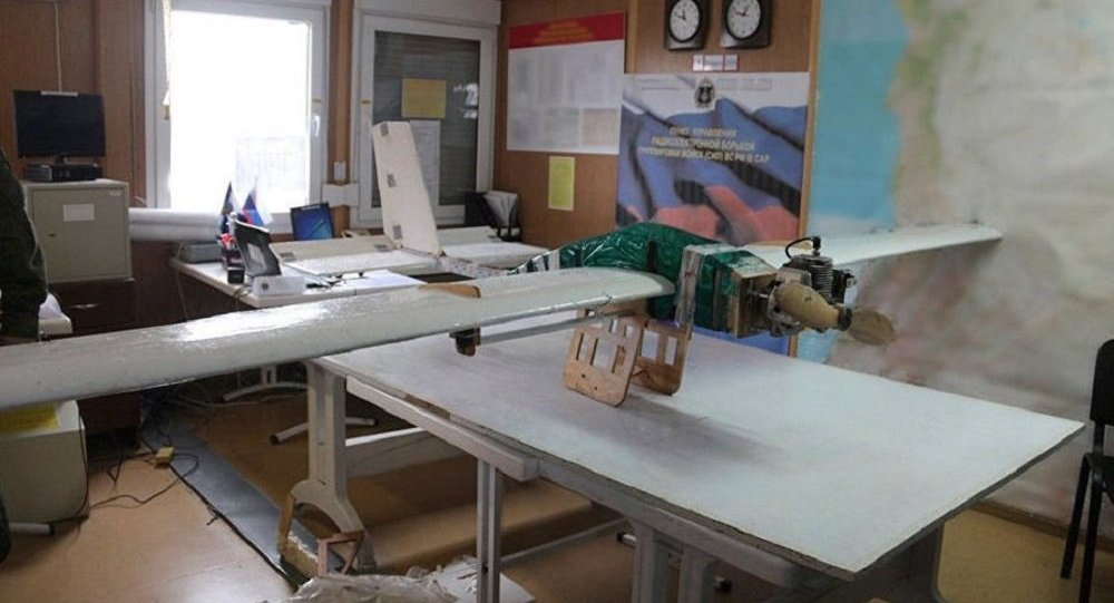 Un dron militar usado en ataque contra la base rusa en Siria