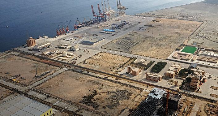 Puerto de Gwadar, en Pakistán