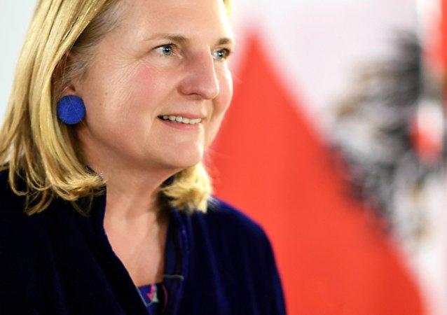 Karin Kneissl, Ministra de las Relaciones Exteriores de Austria