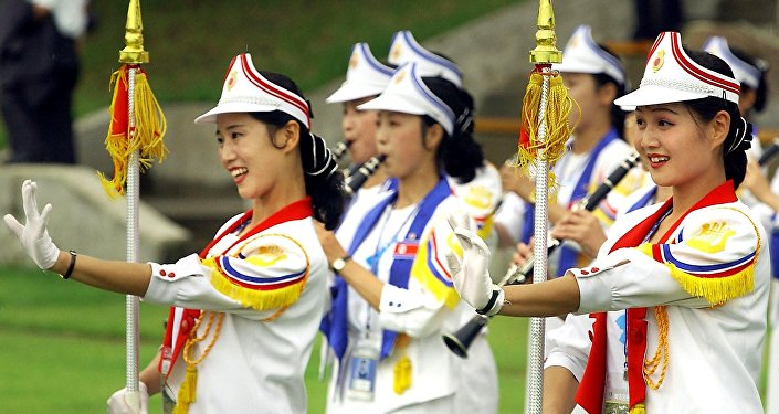 Animadoras norcoreanas (archivo)