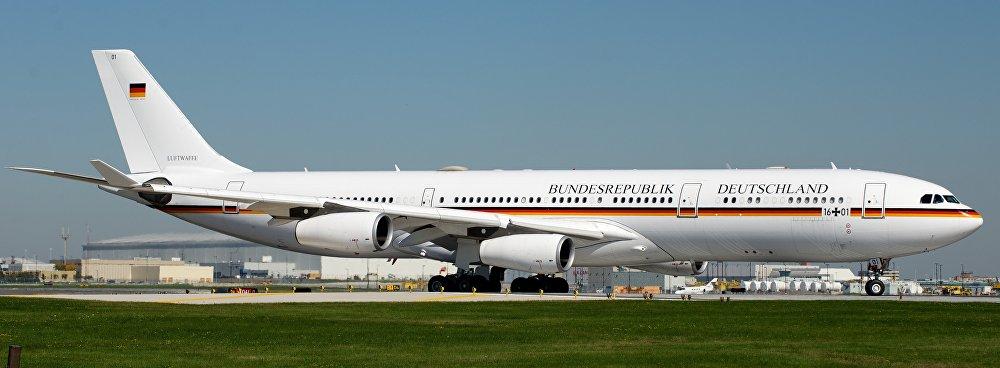 El avión Konrad Adenauer de Alemania