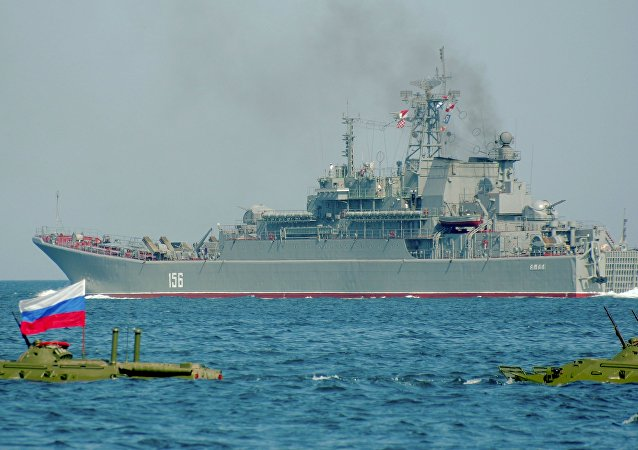 El buque de desembarco ruso Yamal (imagen referencial)