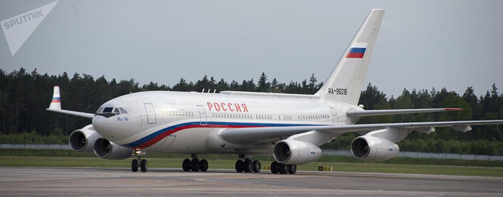 Uno de los aviones presidenciales de Rusia