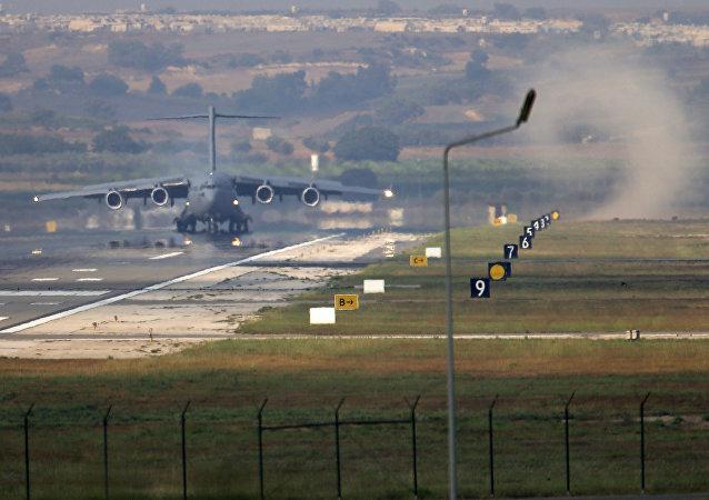 La base aérea de Incirlik, Turquía (archivo)