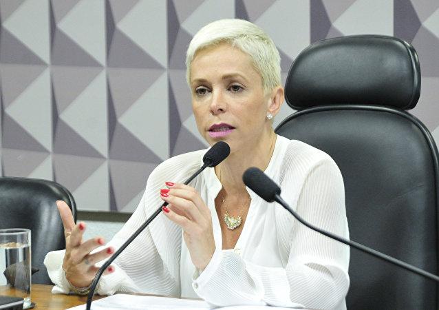 Cristiane Brasil, la designada ministra de Trabajo de Brasil
