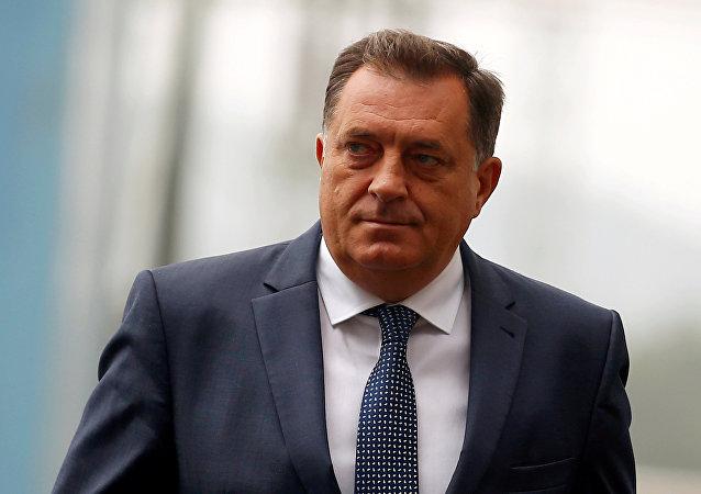 Milorad Dodik, presidente de la República Srpska