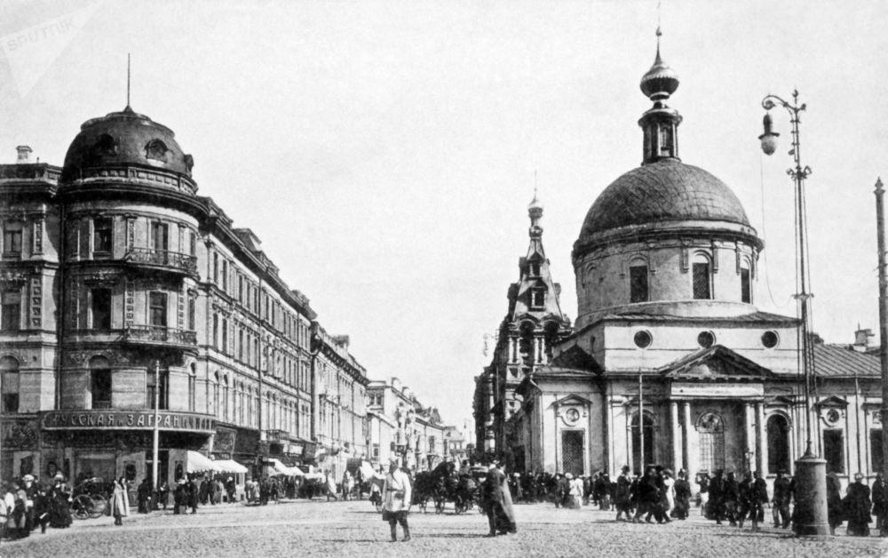 Moscú, un siglo de imágenes de archivo