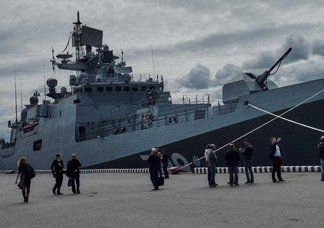 Las fragatas de proyecto 11356 han sido las más 'afectadas' por la falta de los motores de fabricación nacional rusa