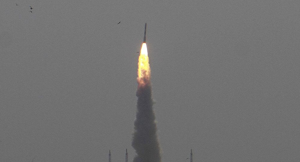 Lanzamiento de un satélite indio Cartosat-2 (archivo)